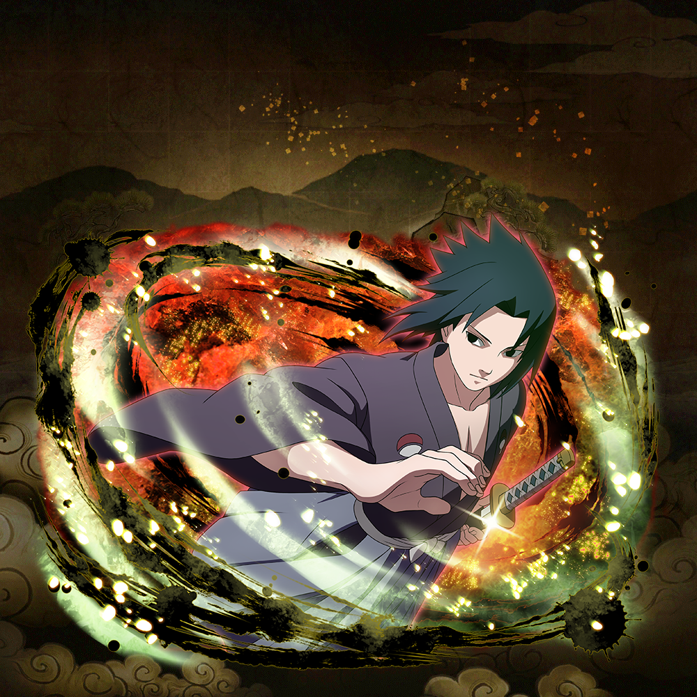 """Sasuke Uchiha """"Wandering Swordsman"""""""