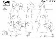 Arte Pierrot - Deidara (Akatsuki)