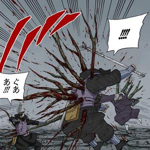 Elemento Madera Jutsu de Estaca Manga 1.png