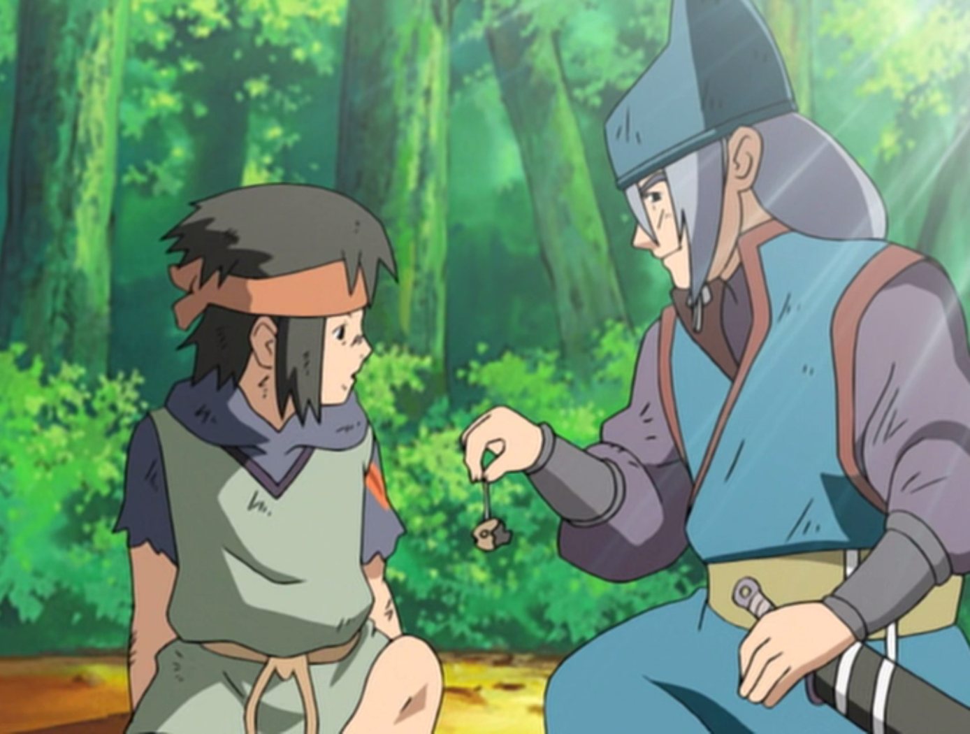 Naruto - Episódio 212: Para Cada um Seu Próprio Caminho