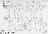 Arte Pierrot - Naruto Terceiro Filme