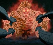 Itachi utilise le Susanô contre les serpents.png