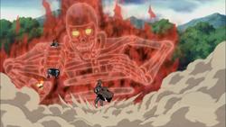 Itachi Saves Naruto and B