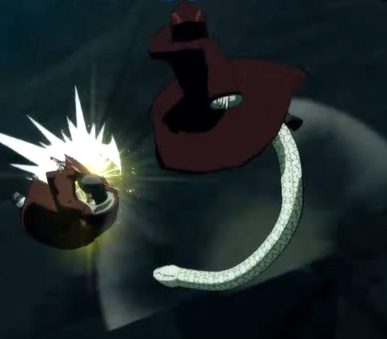 Вихревой Хвост Змеи
