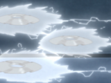 Shurikenjutsu de Relâmpago do Estilo Uchiha: Triplicação