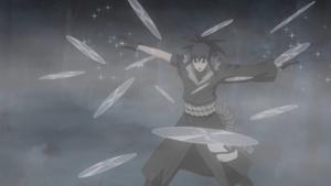 Cristallizzazione: Shuriken Esagonale Danza Selvaggia