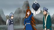 Mizukage animada para a reunião