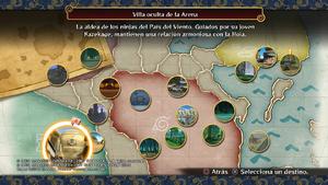 Naruto Storm 4 modo Aventura Mapamundi completo.png