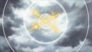 …explodindo como um sinal.