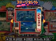 Naruto gekito ninja taisen ex 3 - selección de arenas