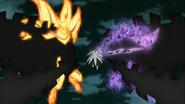 Obito stops Naruto and Sasuke1