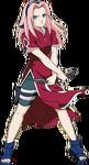 Sakura com cabelo grande (Parte I)