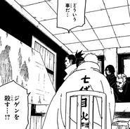 Naruto y compañía ve el combate