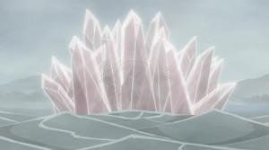 Elemento Cristal: Formación de Ocho Paredes de Cristal de Jade