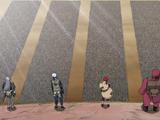 Quarta Guerra Mundial Shinobi: Confronto