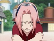Sakura chorando por Naruto