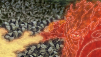 A espada no anime.