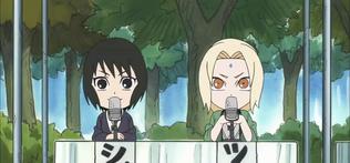 Shizune y Tsunade Naruto SD