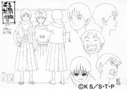 Arte Pierrot - Hashirama Criança