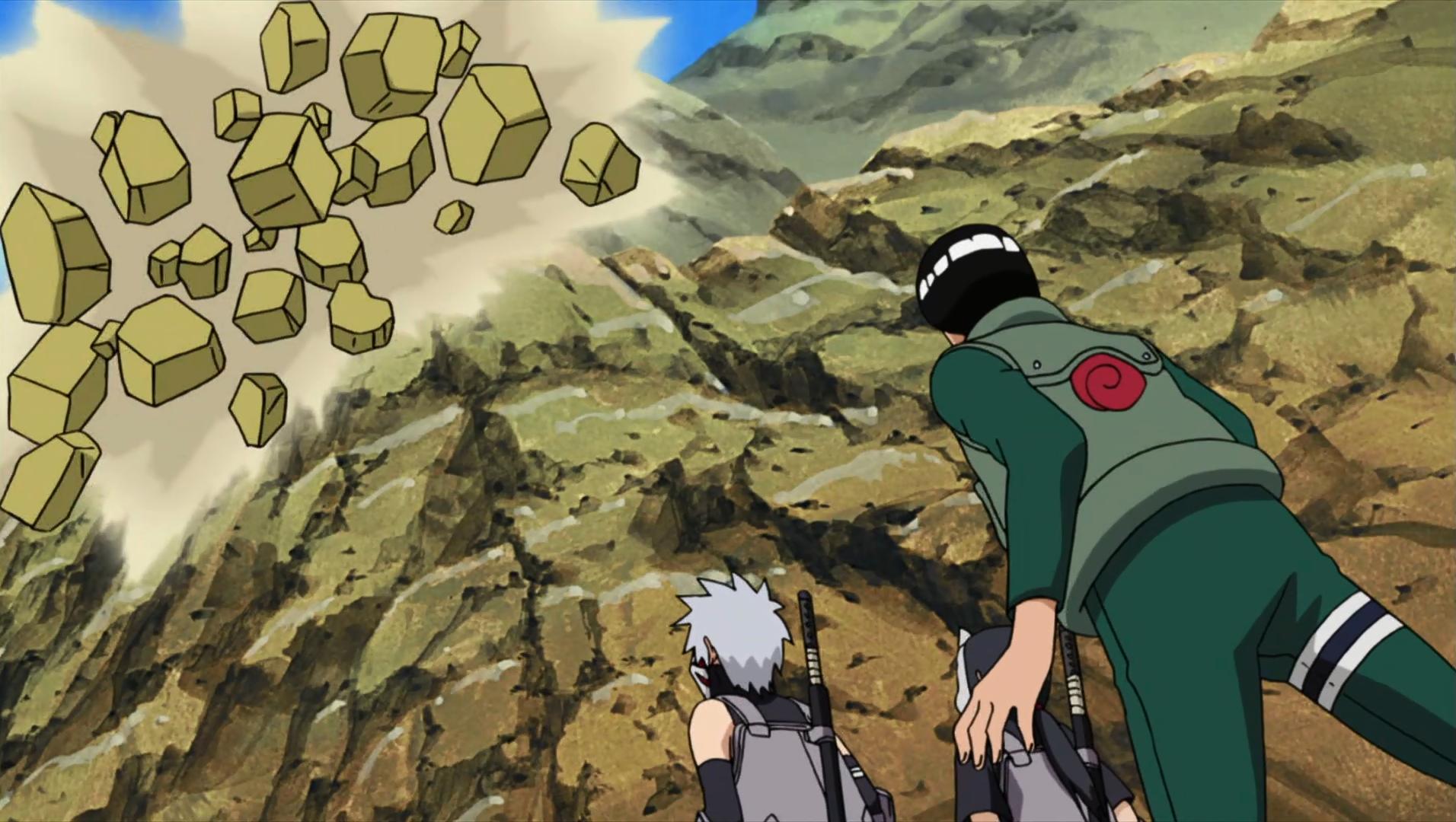 Elemento Tierra: Derrumbamiento de Roca