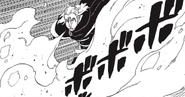 Koji liberando una llamarada