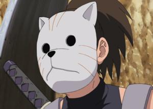 Membro degli ANBU (maschera da tigre)
