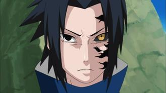 Selo Amaldiçoado ½ (Sasuke)