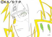Arte Pierrot - Minato (vs Obito)