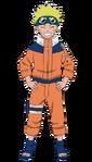 Naruto - 11 anos (Render)