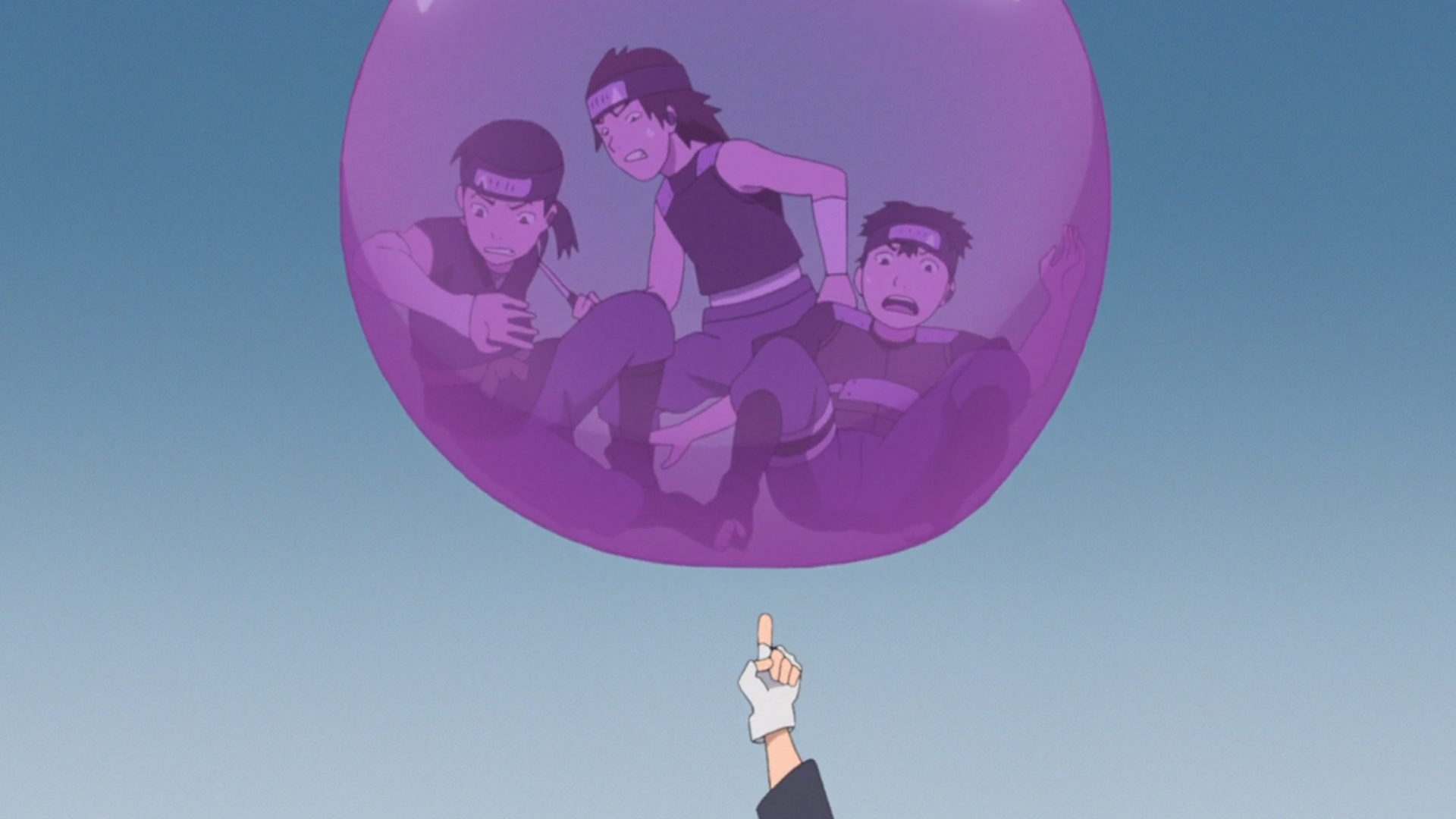 Balão de Chiclete: Prisão