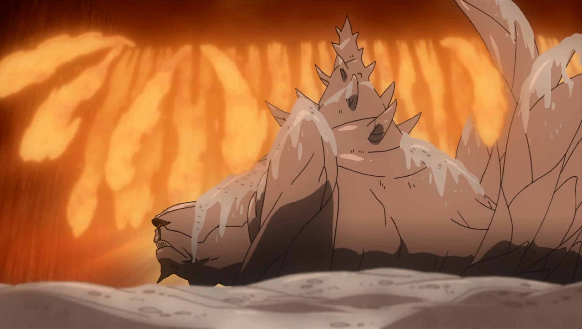 Elemento Fuego: Jutsu de la Gran Llama