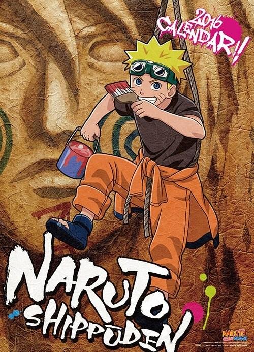Naruto Shippūden Calendario 2016