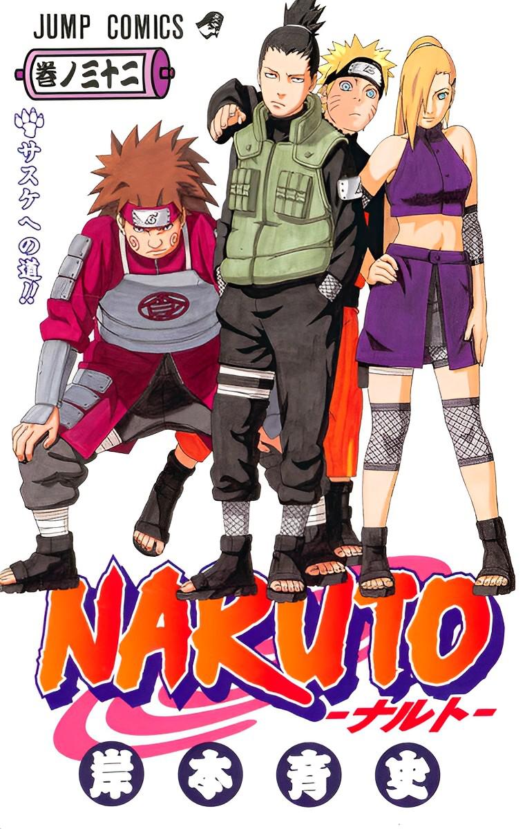 Volume 32: O Caminho para Sasuke!!
