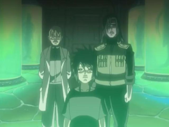 Naruto - Episódio 170: A Porta Fechada