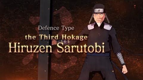 Naruto to Boruto Shinobi Striker - Third Hokage Trailer DLC Pack 2 (HD)