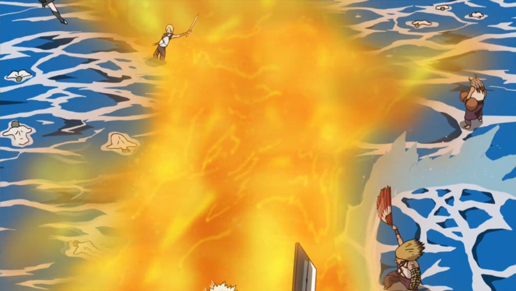 Bashōsen: Hélice de Fogo