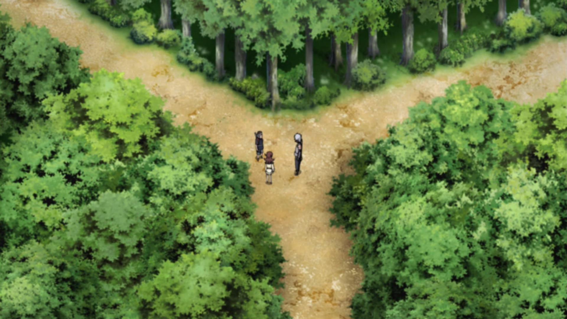 Naruto Shippūden - Episódio 354: Seus Próprios Caminhos