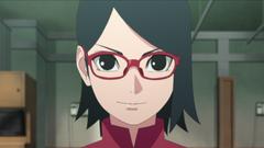 Sarada Uchiha Parte III Anime