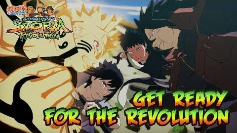 Naruto SUN Storm Revolution - PS3 X360 PC - Get Ready for the Revolution (Japan Expo 2014 Trailer)