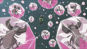 Elemento Cristal: Prisión de Olas de Cristal