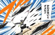 Elemento Imán Conservación de Abeja de Hojas Gemelas Manga 1
