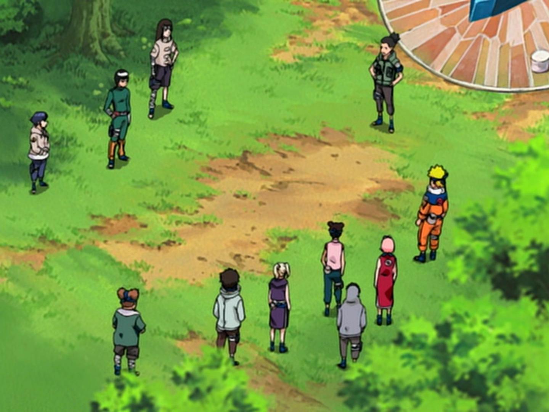 Naruto - Episódio 197: Crise: Os 11 da Folha Oculta se Juntam