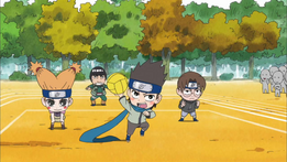 Equipo Ebisu Naruto SD