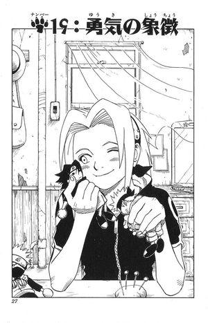 Naruto Capitolo 19