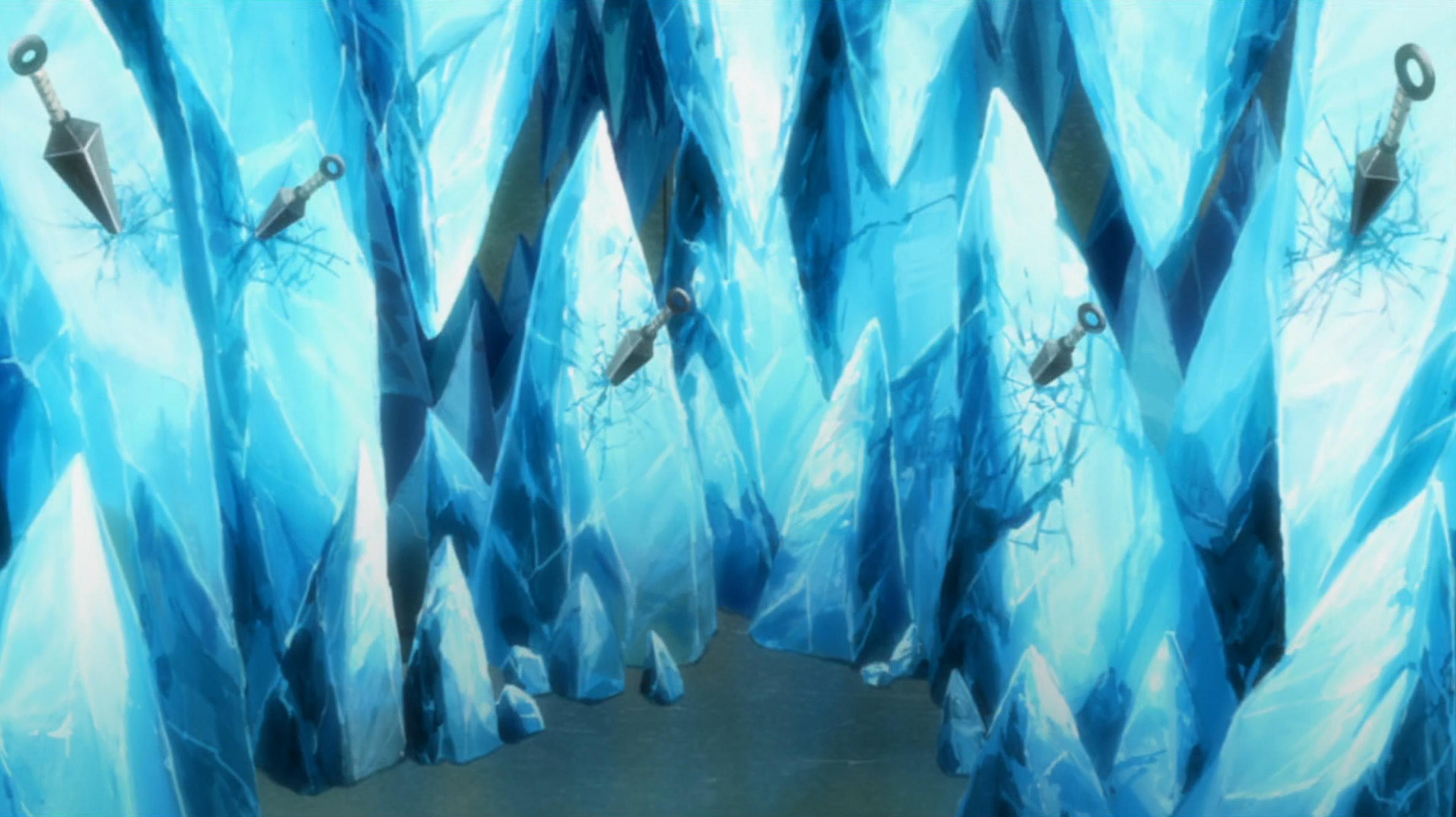 Liberação de Gelo: Parede de Cristal