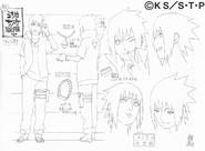 Arte Pierrot - Sasuke Road to Ninja1
