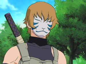 Membro degli ANBU (maschera da volpe)