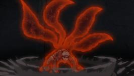Forme Version 1 à Quatre Queues de Naruto