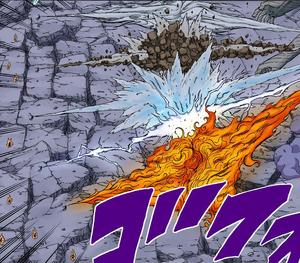 Jutsu Gran Combo de Elemento Quíntuple Manga.png
