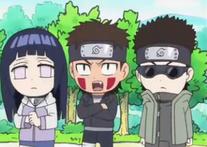 Equipo Kurenai Naruto SD